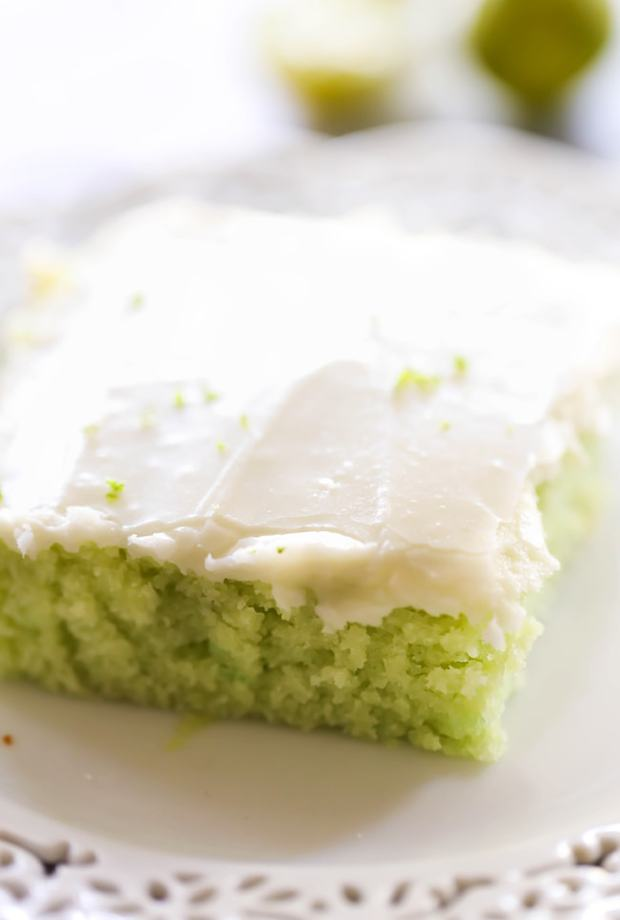This Key Lime Sheet Cake is a tart and sweet cake with a delicious creamy frosting. It has a light and refreshing flavor and is loved by all who try it! If you love the citrusy flavors, then this cake is for you!