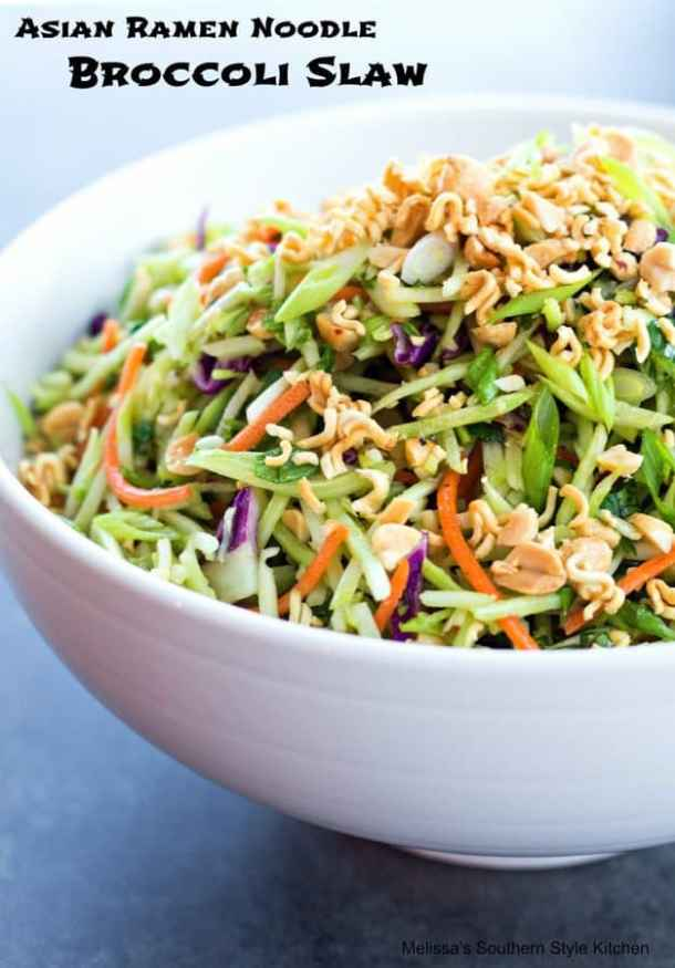 Asian Ramon Noodle Broccoli Slaw