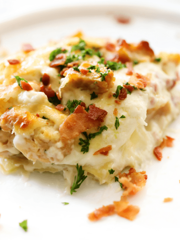 Chicken Cordon Bleu Lasagna--Part of The Best Lasagna Recipes