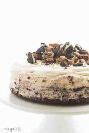 Chocolate Chip Cookie Oreo Brownie Ice Cream Cake
