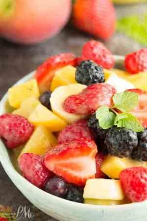 Instant Vanilla Pudding Fruit Salad