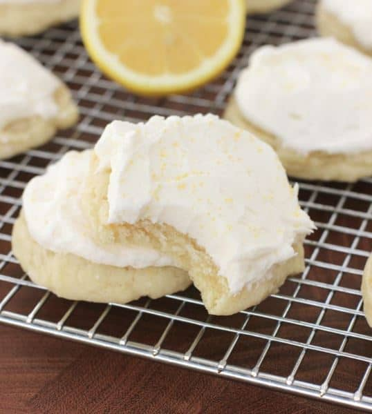 Lemon Lover's Dream Cookies--Part of The Best Cookie Recipes