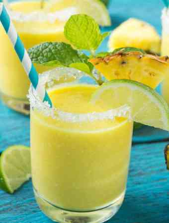 Pineapple Coconut Smoothies
