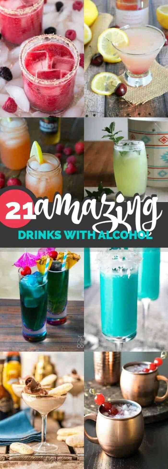 pinterest 21 alcoholic drinks