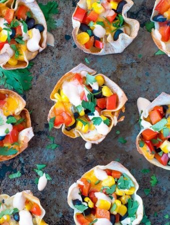 Quick, easy, and uber customizable, these Southwest Veggie Won-ton Cups are ready to take your snack game to the next level! Serve them up as a side dish, appetizer, or snack, or add your favorite protein and give them spotlight status at mealtime.