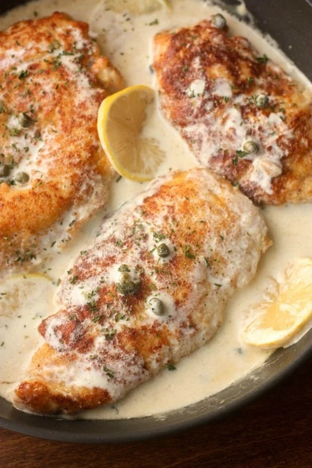 This Lemon Chicken Piccata is easy to make, tastes amazing, and is sure to become one of your new favorite dinner recipes!