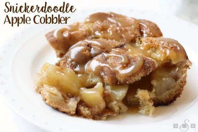 Snickerdoodle Apple Cobbler The Best Blog Recipes