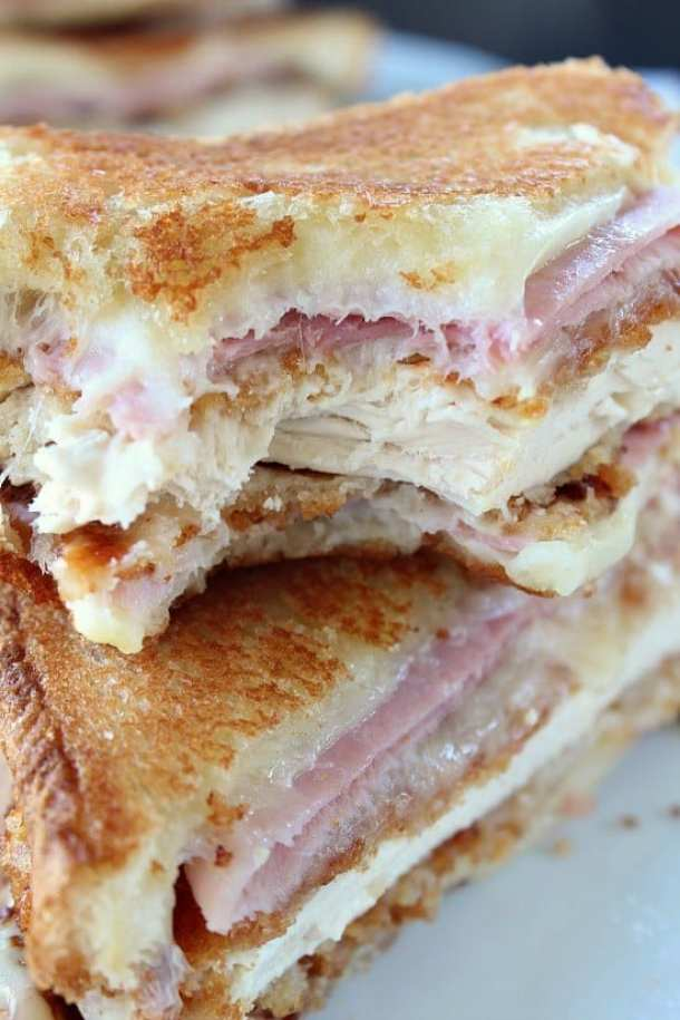 13 Chicken Cordon Bleu Grilled Cheese21+ Grilled Cheese Sandwiches that your family will go CRAZY for!