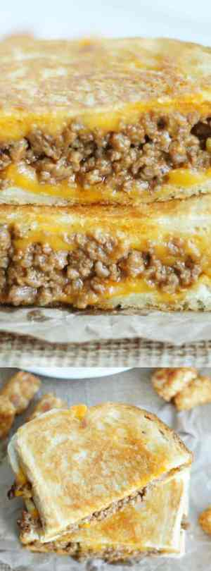 Grilled Cheese Sloppy Joe Long Pin