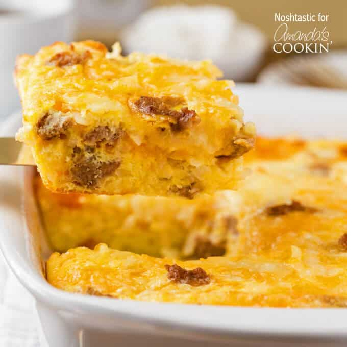 Turkey Hash Brown Casserole