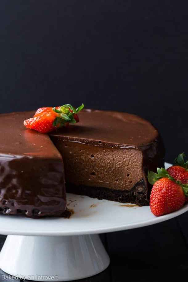 9. Nutella Cheesecake-- Part of 30 The Best Nutella Recipes