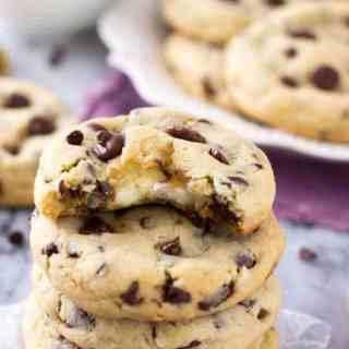 Cheesecake Stuffed Chocolate Chip Cookies