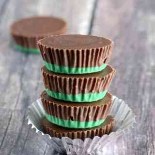Easy Oreo Chocolate Mint Candies