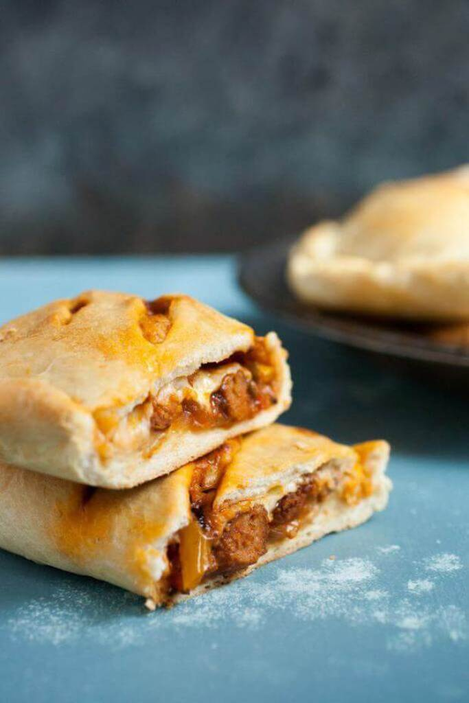 Sausage and Pepper Hot Pockets