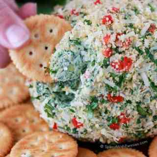 Spinach Artichoke Cheeseball