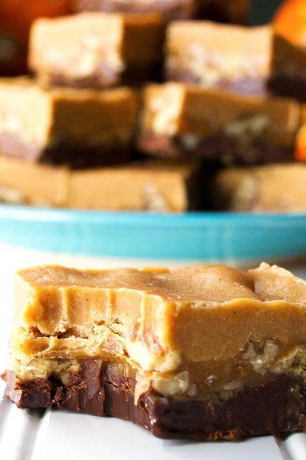 An easy no-bake recipe for creamy, rich, decadentTurtlePeanut ButterFudge.