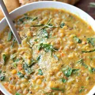 Veggie Loaded Lentil Soup