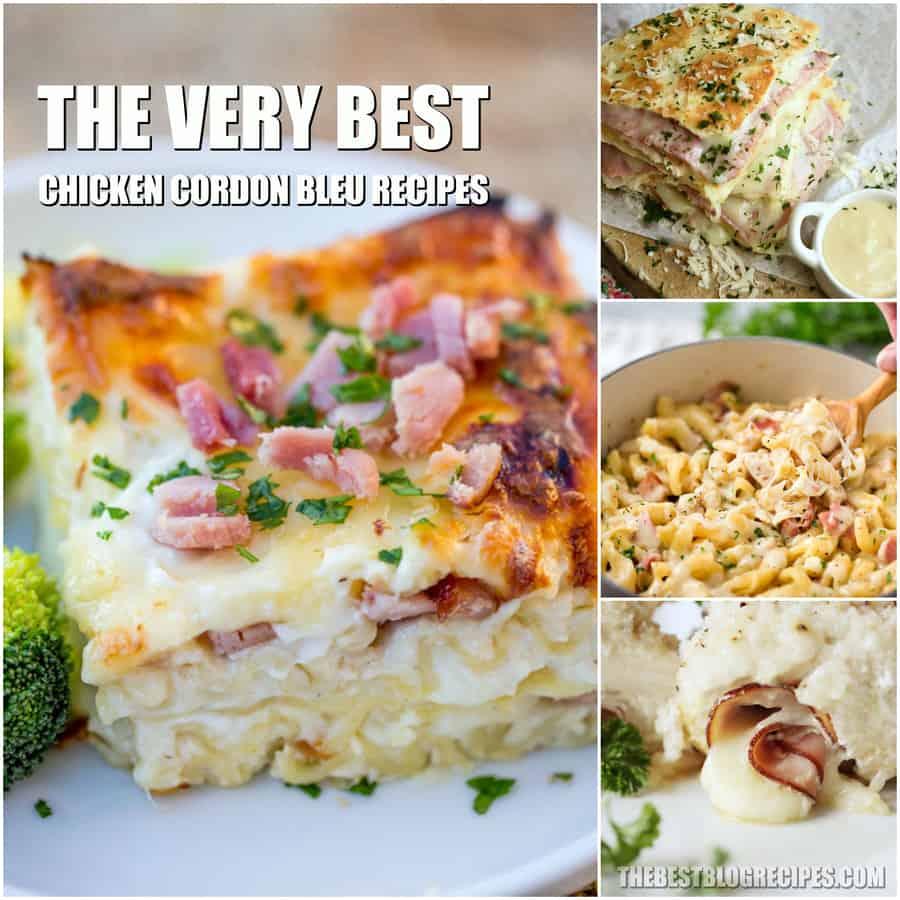 The Best Chicken Cordon Bleu Recipes