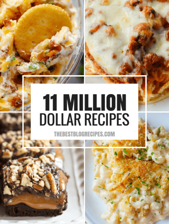 MILLION DOLLAR RECIPES THAT WE'RE OBSESSED WITH