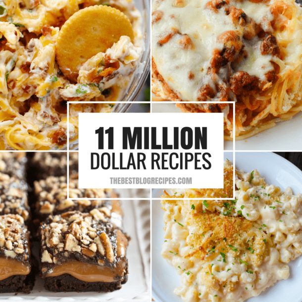 11 MILLION DOLLAR RECIPES THAT WE'RE OBSESSED WITH!