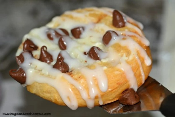 Easy Chocolate Chip Cheese Danish--- Part of 30 Breakfast Danishes to Start Mornings off Right
