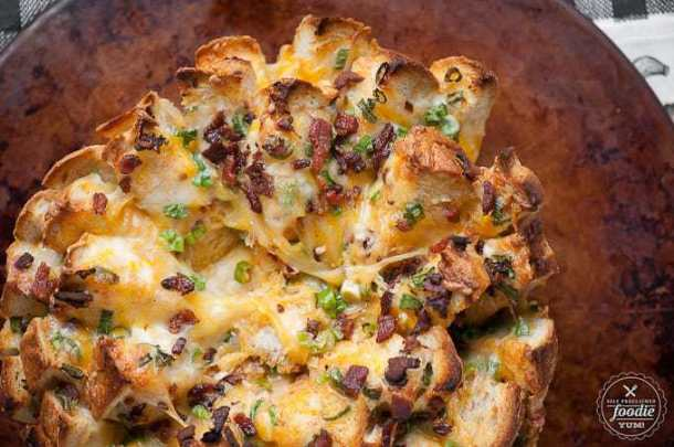 Cheesy Chipotle Pull Apart Bread--Part of The Best Pull Apart Bread Recipes