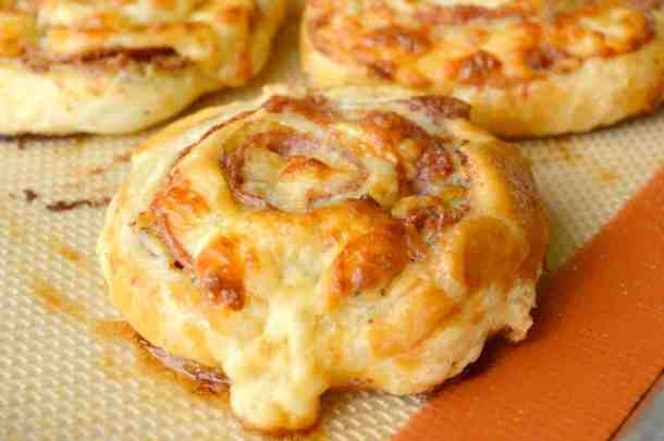 cheesy italian pinwheels -- part of The Best Pinwheel Recipes