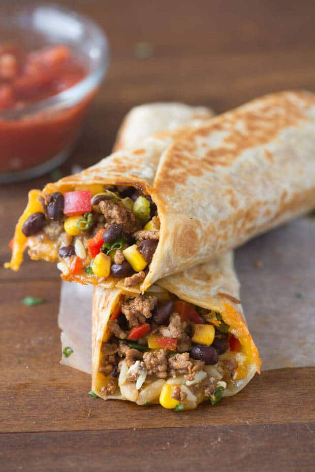 Crispy Southwest Wrap