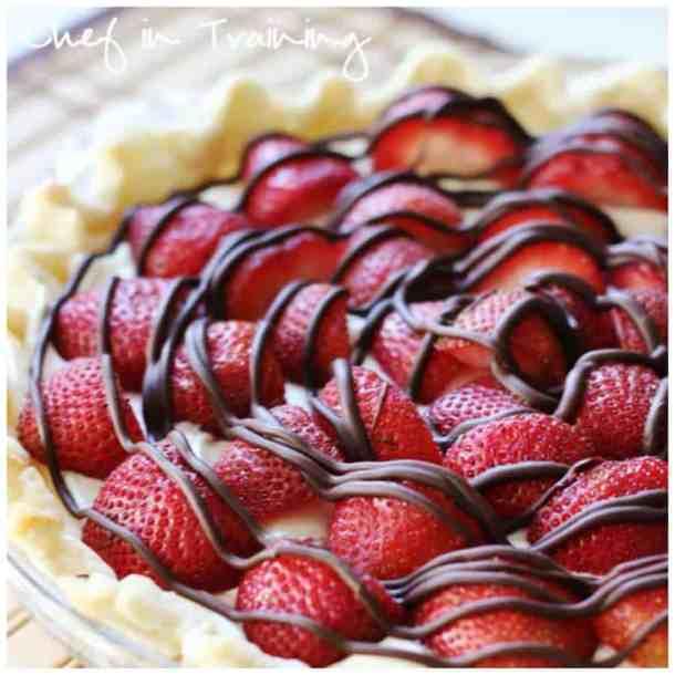 Easy Strawberry Cream Pie