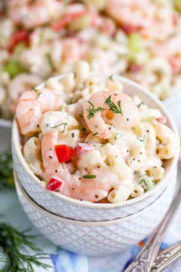 Shrimp Pasta Salad -- part of The Best Picnic and Potluck Recipes