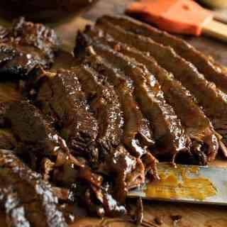 Slow Cooker Barbecue Beef Brisket