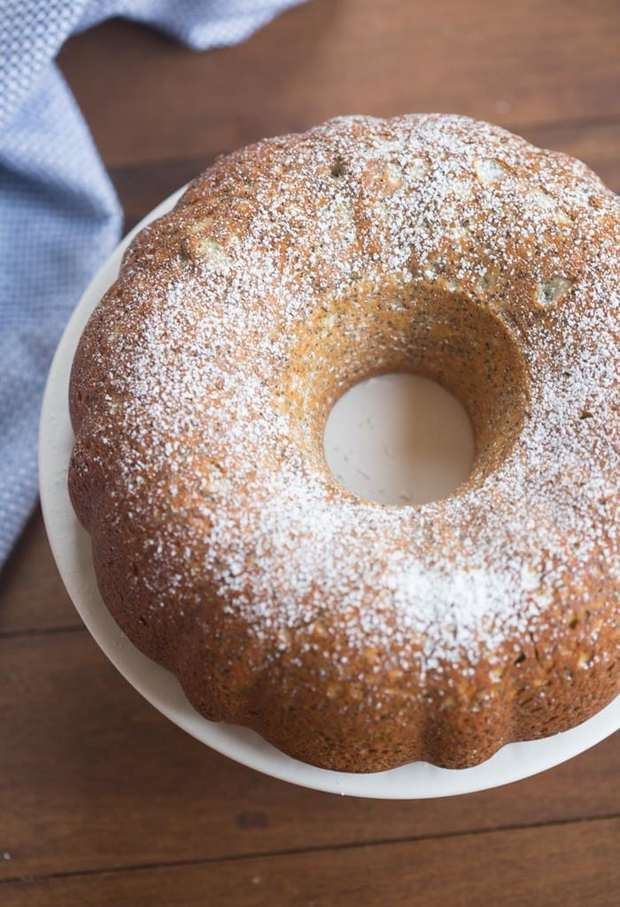 Incredibly light and tender homemade Poppy Seed Cake, perfect for brunch or dessert!