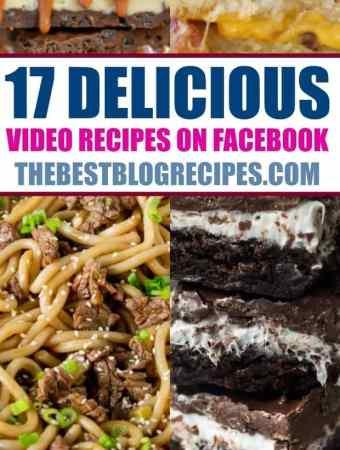17 DELICIOUS Video Recipes on Facebook
