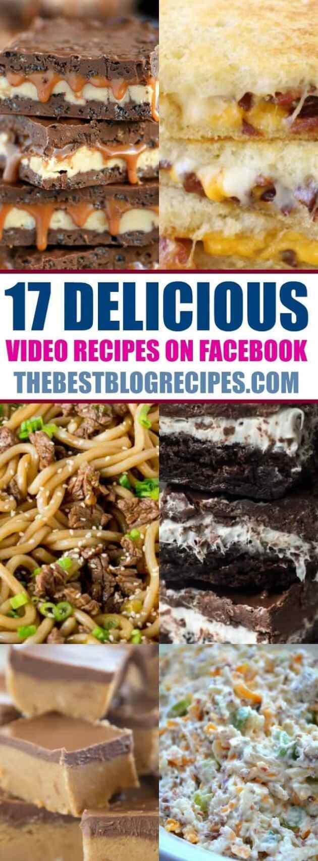 17 Delicious Video Recipe on Facebook