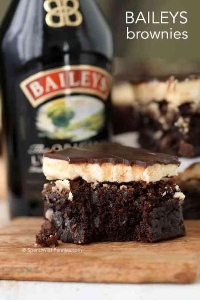 Bailey's Brownies