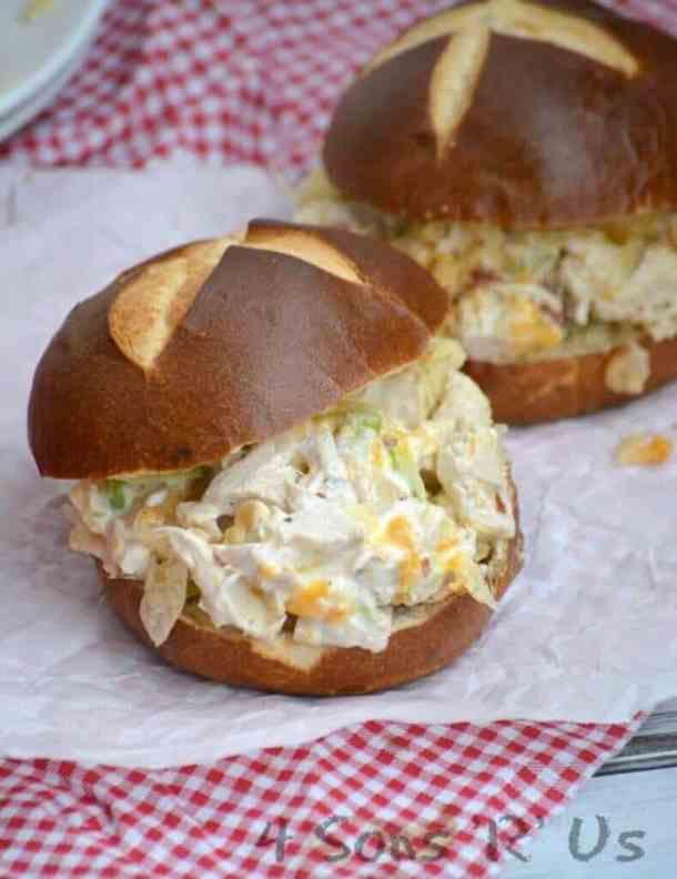 Hot Potato Chip Chicken Salad Casserole