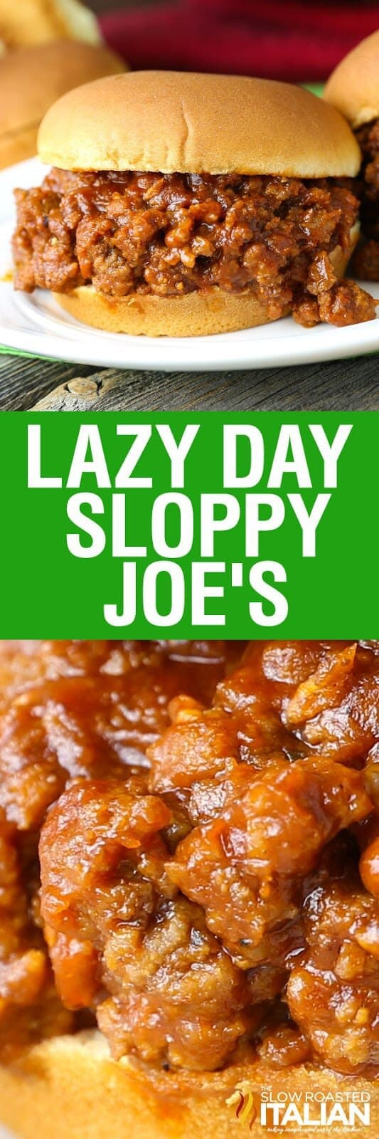 Lazy Day Sloppy Joe's