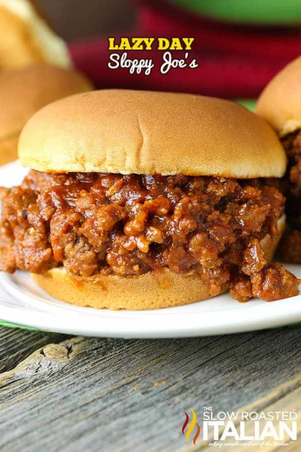 Lazy Day Sloppy Joe's -- part of Budget Friendly Lazy Day Sloppy Joe's