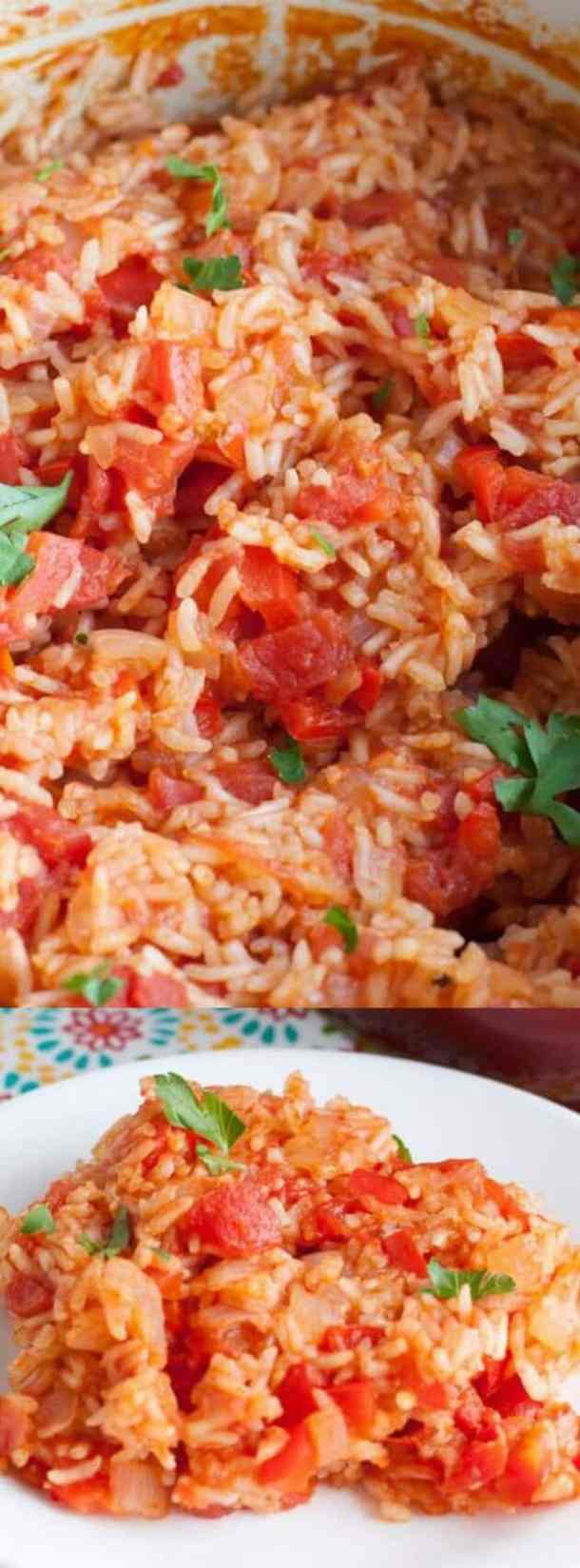 One Pot Spanish Rice