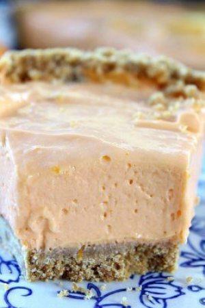 Orange Cream Cheese Pie