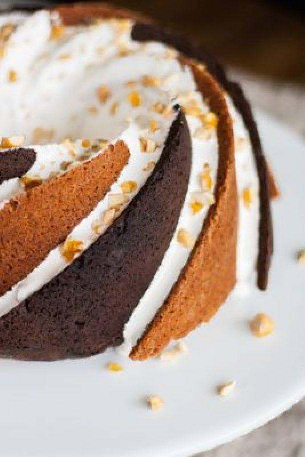 Rocky Road Bundt Cake -- part of 14 OF THE BEST BUNDT CAKE RECIPES