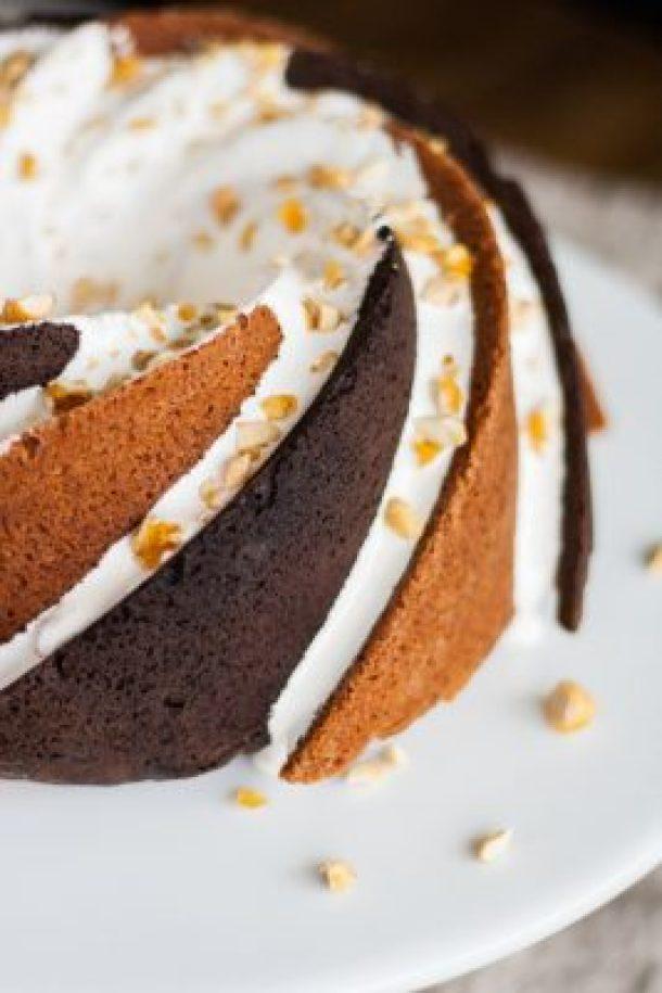 Rocky Road Bundt Cake