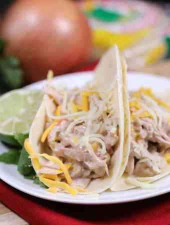 Slow Cooker Creamy Pork Tacos