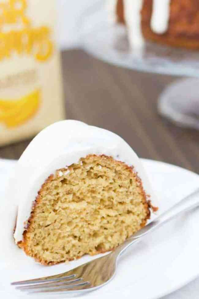 Banana Bundt Cake with Cream Cheese Frosting