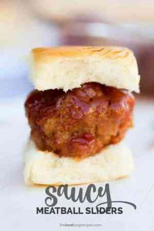 Saucy Meatball Sliders