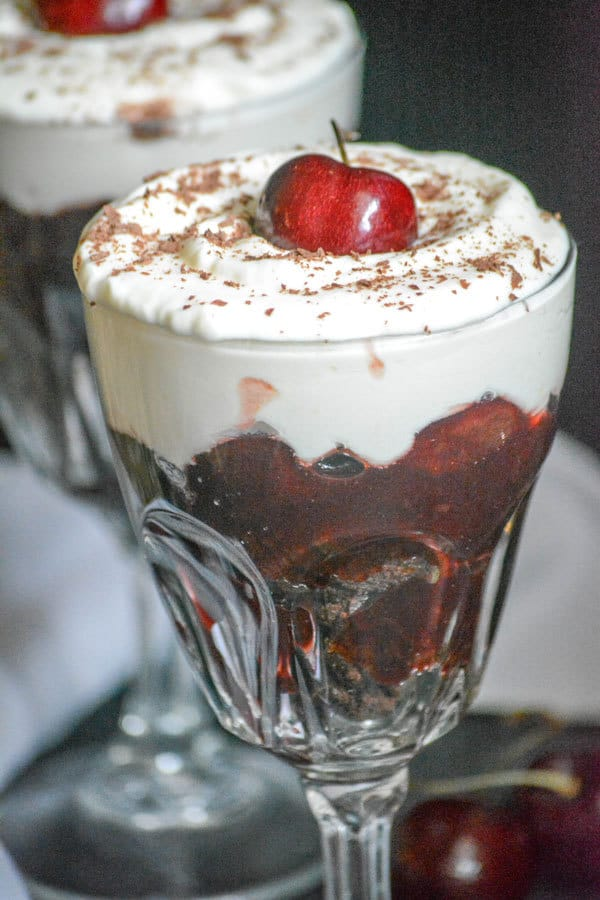 Easy Black Forest Trifle Recipe