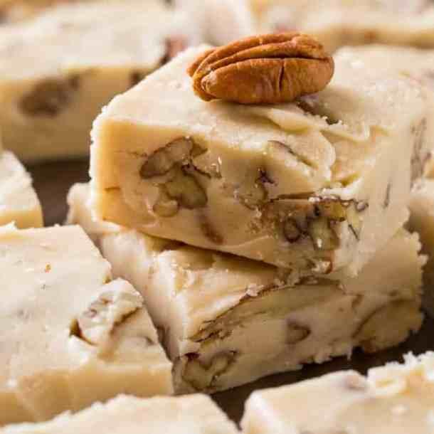 Butter Pecan Fudge -- Part of the Best Fudge Recipes