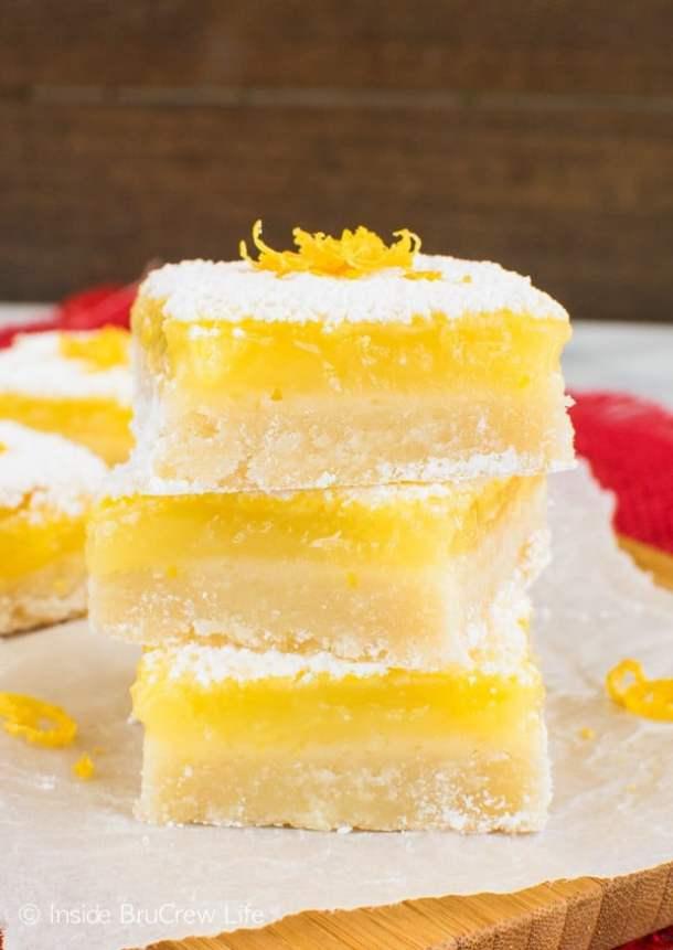 Best Lemon Bars--Part of The Best Dessert Bars