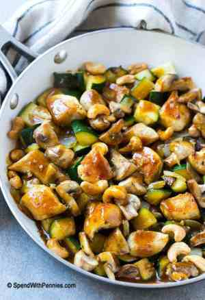 Cashew Chicken Stir Fry