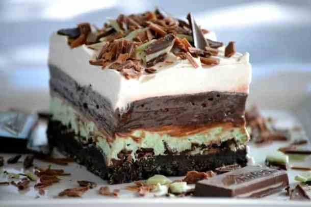 Chocolate Mint Dream Bars--Part of The Best Dessert Bars
